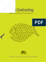 Open Contracting a Guide for Practitioners by Practitioners-V2