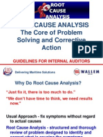 ROOT CAUSE ANALYSIS for Shipping Internal Auditors