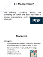 Management Functions, Planning