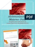 Aloinmunizacion