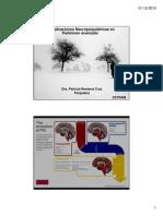 Complicaciones Neuropsiquiátricas de la EP Avanzado Dra Patricia Renteria