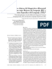 Implicaciones clinicas del diagnostico diferencial temprano entre RDL y TEL.pdf