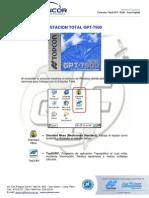 Guia Rapida Estacion Total GPT-7500