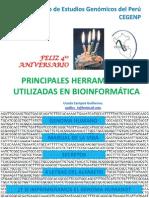HERRAMIENTAS EN BIOINFORMÁTICA