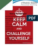 April Challenge Promo
