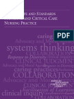 Standards for Acute and Critical Care Nursing