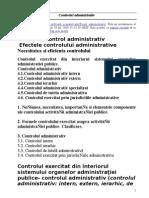 Controlul Administrativ - 2005