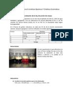 Práctica Numero 6 cinética Química Y Cinética Enzimática