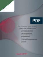 Wireline and Perforating Service_Hallibuton