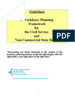 A Workforce Planning Framework for the Civil Service and Non Commercial State Bodies1