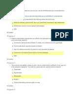 Questionario Estudos Discipllinares I