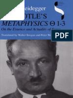 Heidegger, Martin - Aristotle's Metaphysics (Indiana, 1995)