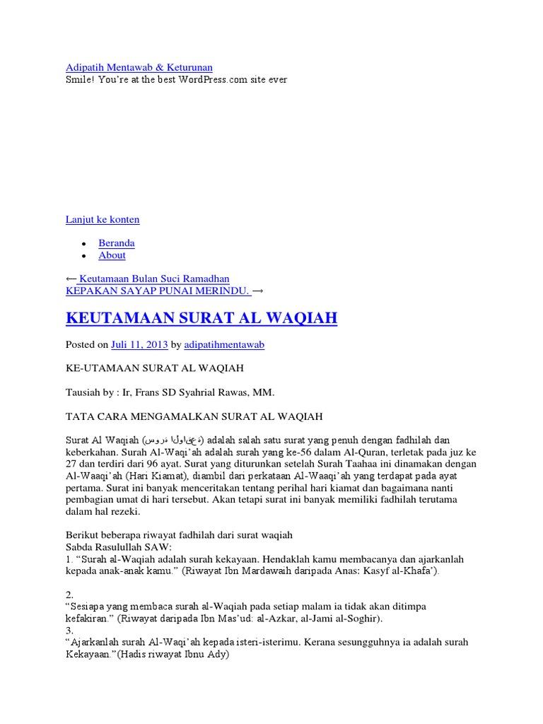 Surat Al Waqiahdocx