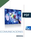 Memoria Telecomunicaciones