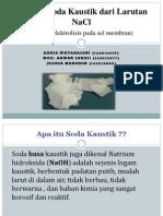 Industri Soda Kaustik Dari Larutan NaCl