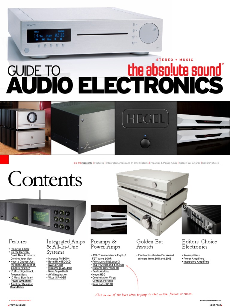 Guide To Audio Electronics 2012 Loudspeaker Amplifier 300w Fm Rf Circuit P Marian Amplifiers