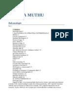 Mircea Muthu-Balcanologie