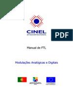 01 - MODULAÇÃO ANALÓGICA - MANUAL - CINEL