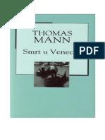 Thomas Mann-Smrt u Veneciji