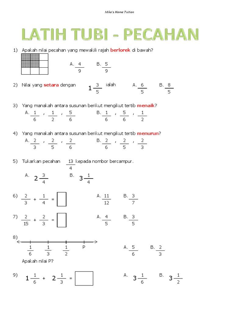 Soalan Matematik Tahun 4 Tajuk Masa Dan Waktu Perokok O