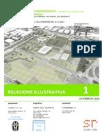 Juventus FC, Progetto Continassa, Relazione Illustrativa