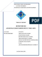 Retroviruses and Human Immunodeficiency Virus (HIV) [Final Version]