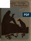 Thoughts From G. K. Chesterton ([1913]) Chesterton, G. K. (Gilbert Keith), 1874-1936