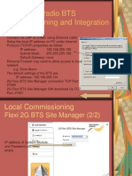 Flexi Multiradio BTS Commissioning and Integration.ppt NEW