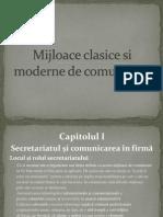 147663462 Mijloace Clasice Si Moderne de Comunicare