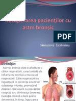 Recuperarea Pacientilor Cu Astm Bronsic