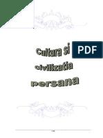 Cultura Civilizatia Persana