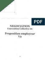 NEGOCIATION Convention Collective 66 Proposition Employeur V2 PDF