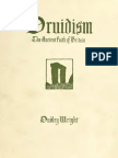 Druidism - The Ancient Faith of Britain (1924) Wright, Dudley, 1868-1949