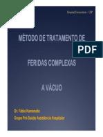 METODO Tratamento FeridasComplexa Vacuo