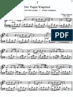 Cesar Franck Easy Piano Pieces