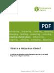 What is a Hazardous Waste?