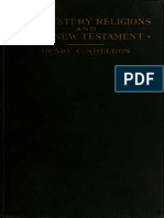 The Mystery Religions and the New Testament (1918) Sheldon, Henry C. (Henry Clay), 1845-1928
