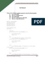 USP Lab Manual