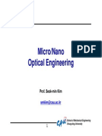 Lecture Note 01 Introduction of Optics