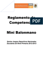 Reglamento Minibalonmano Jde 2013 (Ok)