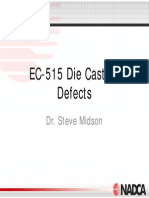 Nadca - Overview of defets in die casting