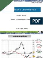 Frédéric Chomé - Idées pour financer l'économie verte