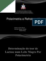 Polarimetria e Refratometria