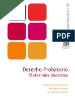 Derecho Probatorio - Material Docente