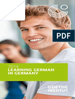 Learning German in Germany 2014