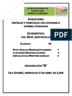 Ficha de Cacao