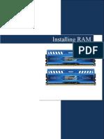 Installing RAM instructions