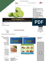 Ceviche de Pescado __ GastronomÃ_a Perú