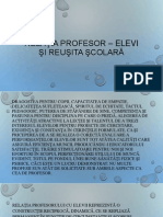 relatia profesorelev