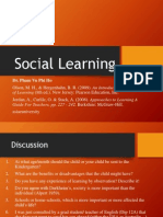 Session 4 - Social Learning
